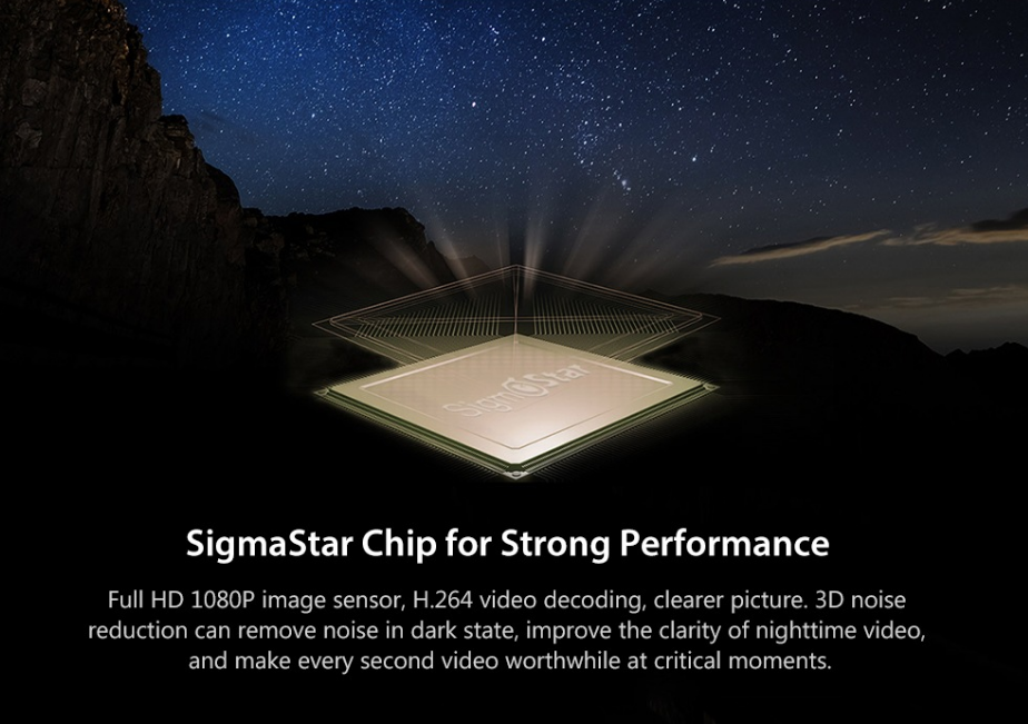 Xiaomi 1S Car DVR Chip