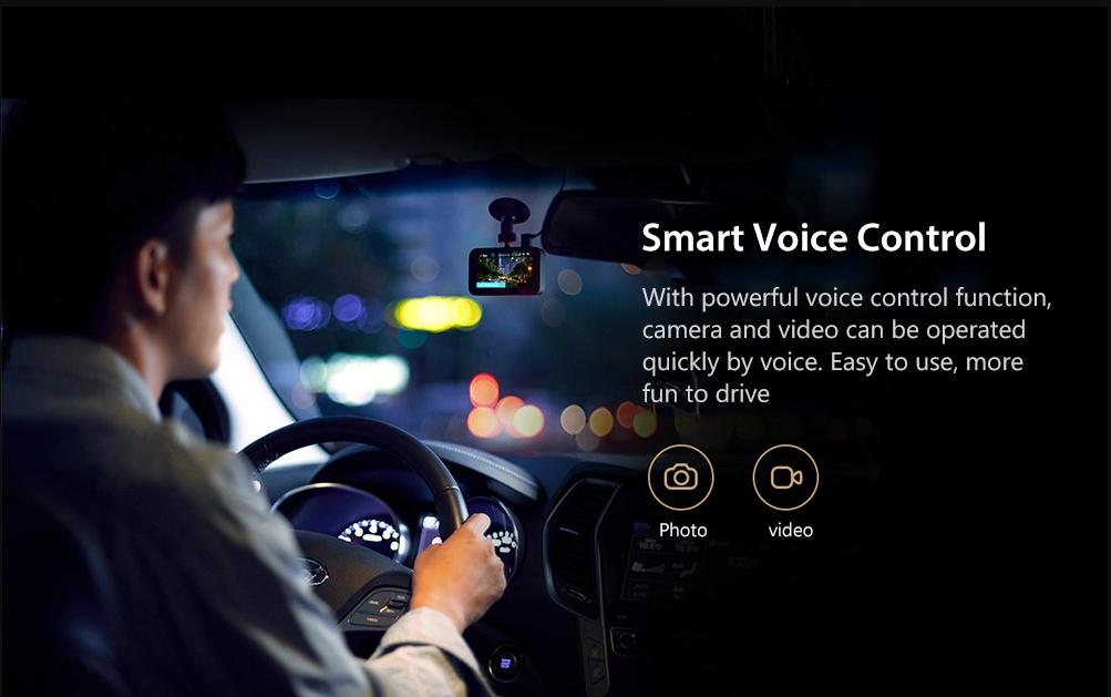 Xiaomi 1S Car DVR Control de voz