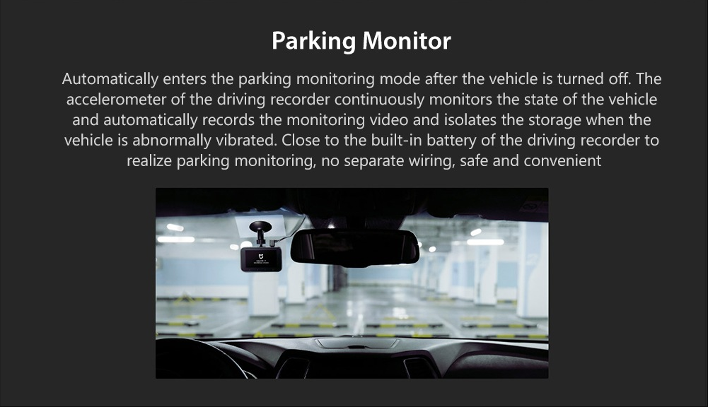 Xiaomi 1S Car DVR Monitor