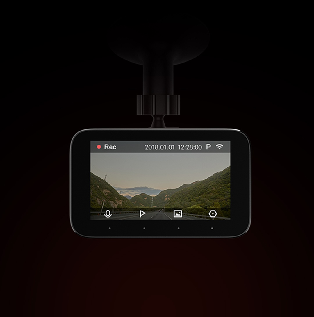 Xiaomi 1S Car DVR Pantalla