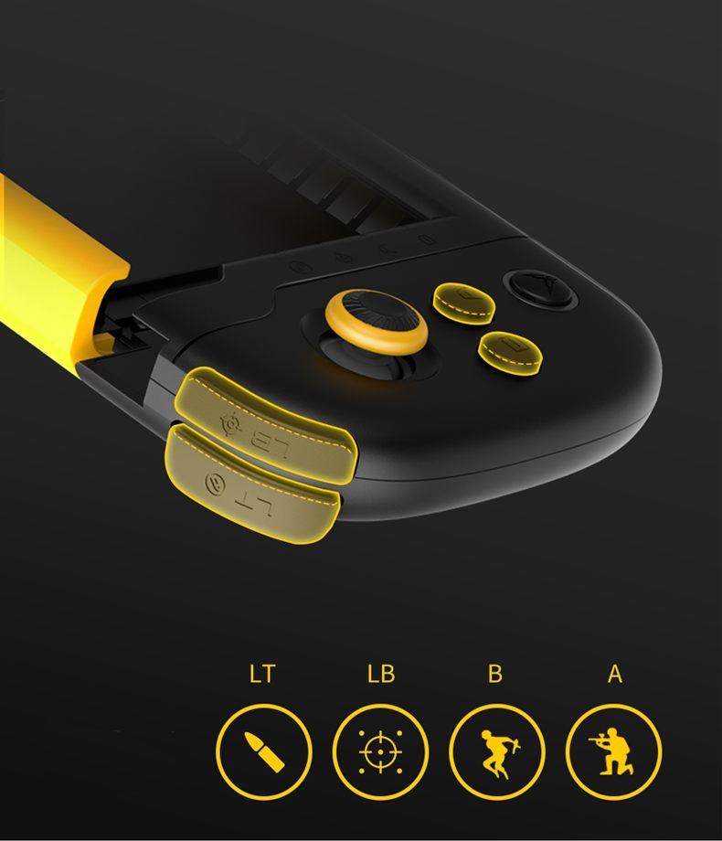 Xiaomi Mijia Flydigi diseño botones