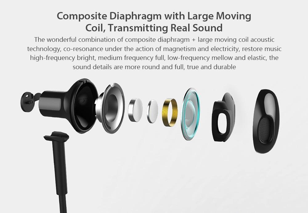 Xiaomi Necklace Bluetooth Earphone diafragma compuesto