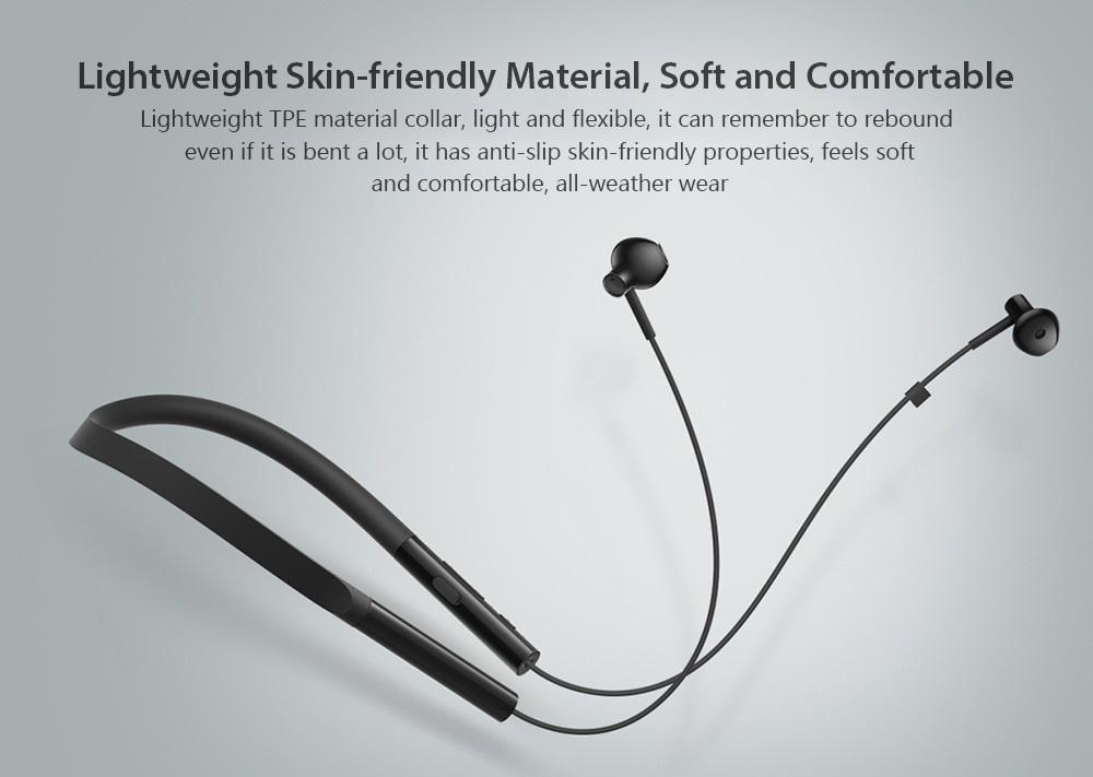 Xiaomi Necklace Bluetooth Earphone diseño materiales