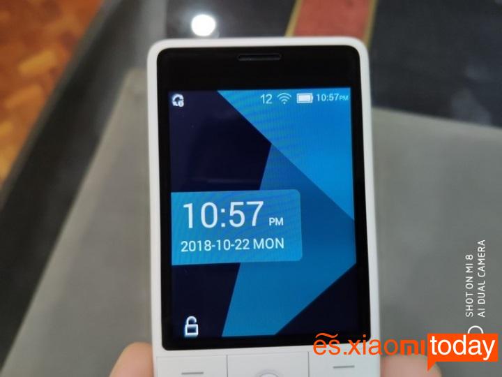 Xiaomi QIN 1SPantalla