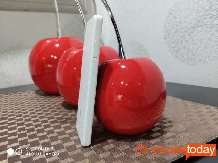 Xiaomi QIN 1S diseño lado izquierdo