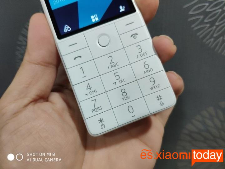 Xiaomi QIN 1S teclas