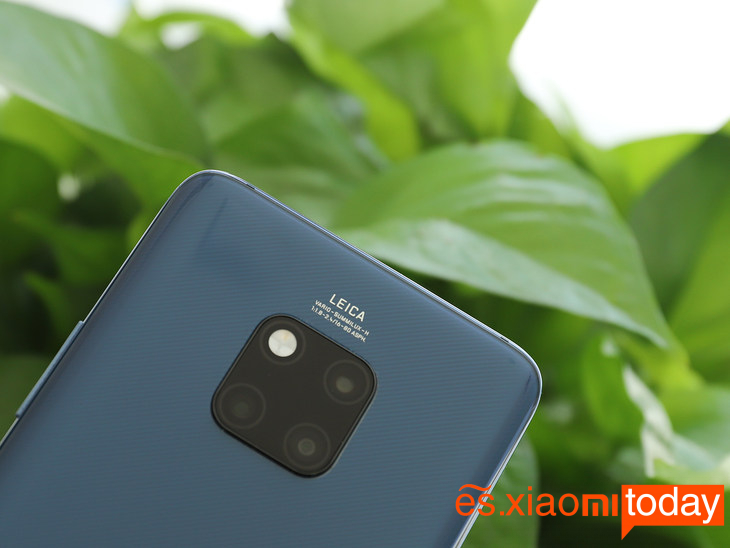 Huawei Mate 20 Pro: cámara