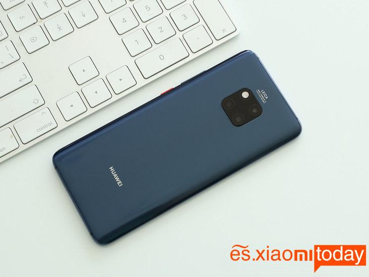Huawei Mate 20 Pro: diseño posterior