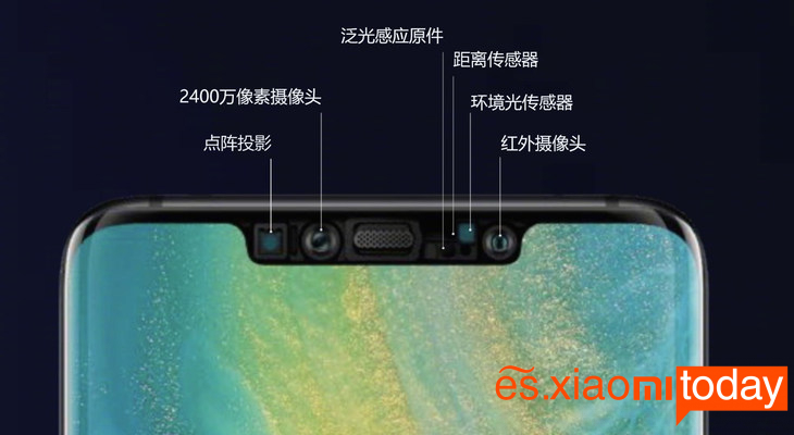 Huawei Mate 20 Pro: cámara frontal