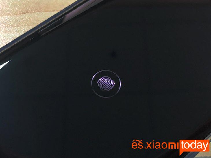 Huawei Mate 20 Pro: sensor de huellas dactilares
