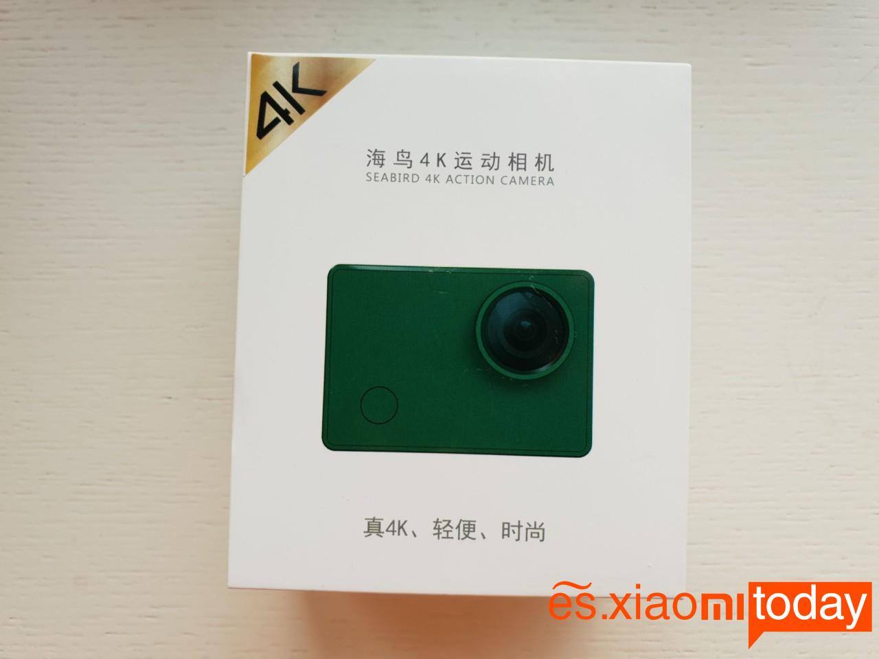 Xiaomi Seabird 4K Action Camera Análisis: Contenido del paquete