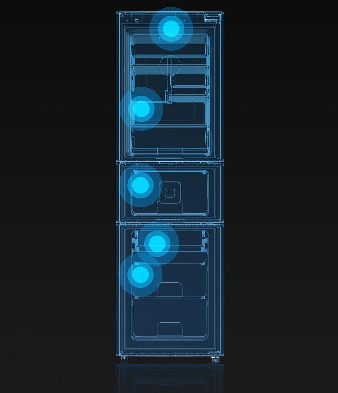 Xiaomi Yunmi Smart Refrigerator 301L, el nuevo refrigerador inteligente con capacidad de 301 litros