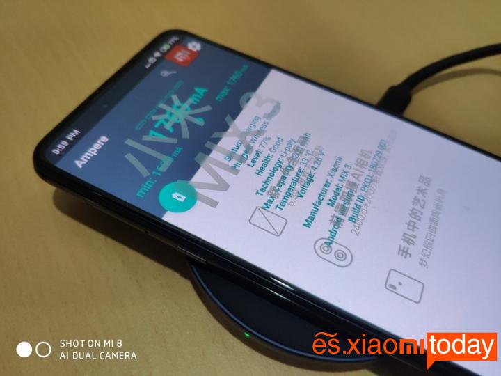 Cargador inalámbrico Xiaomi Mi
