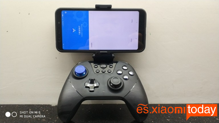 Fei Zhi X8 Pro Gaming Pad Análisis - Detalles de diseño