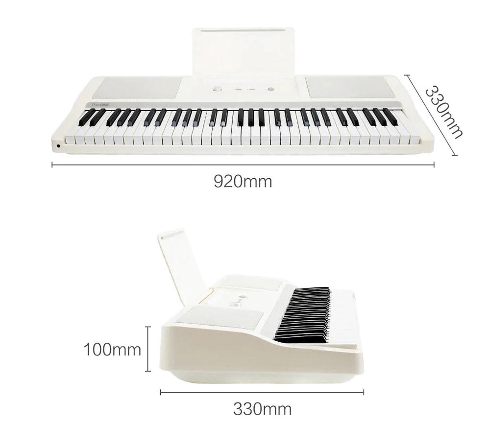 Xiaomi TheOne Smart Keyboard Piano - Diseño y construcción