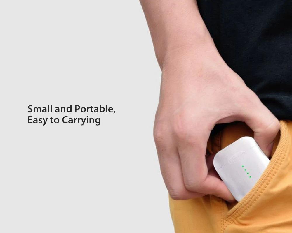 Auriculares i10 TWS Mini diseño dimensiones