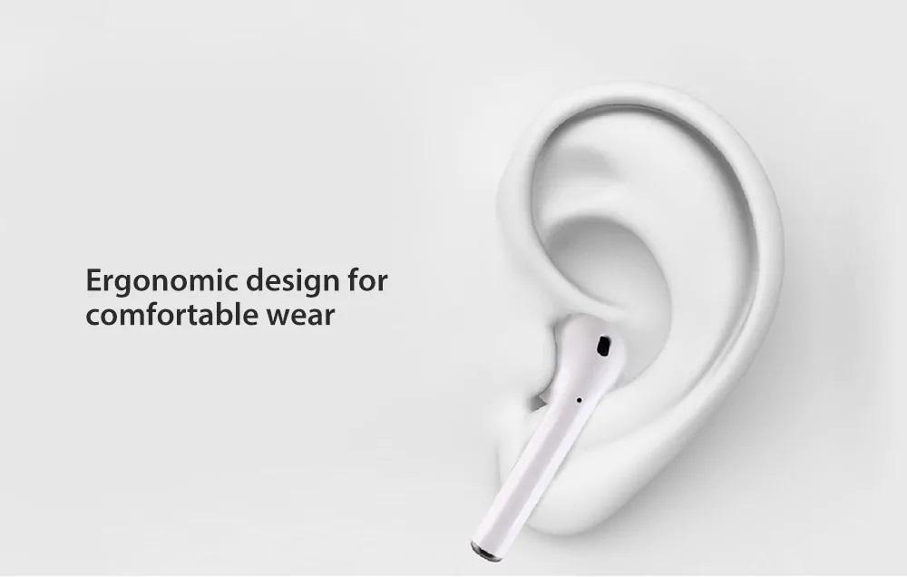 Auriculares i10 TWS Mini diseño