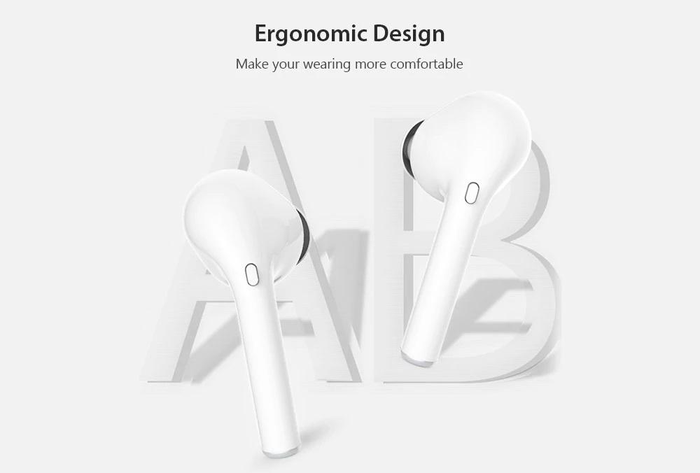 Auriculares i9X TWS diseño ergonómico