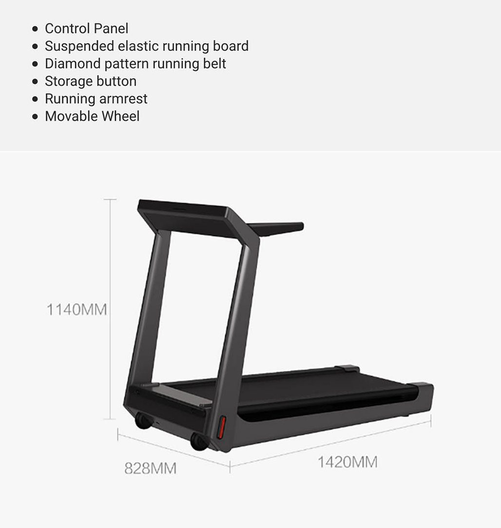 caminadora plegable inteligente Xiaomi