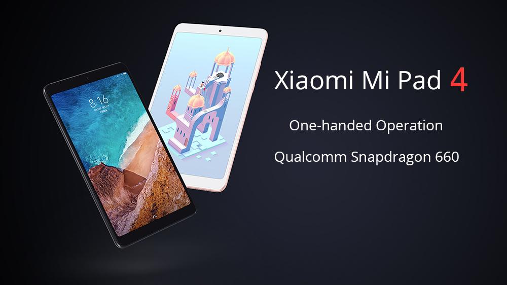 Gearvita promoción navideña Xiaomi Mi Pad 4 LTE