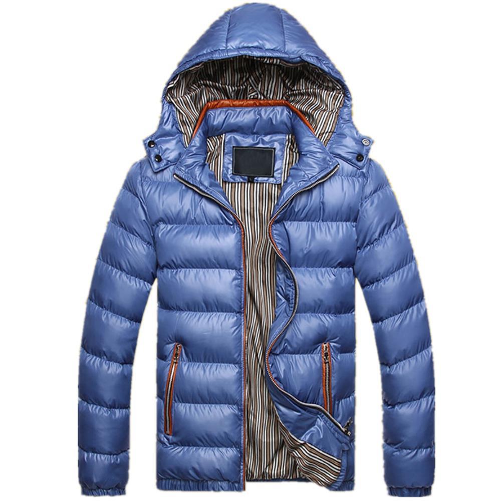 Geekbuying promoción navideña TG220 Men's Winter Hooded Down Jacket