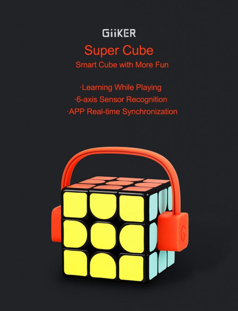 Geekbuying promoción navideña Xiaomi Mijia Giiker Super Square Magic Cube