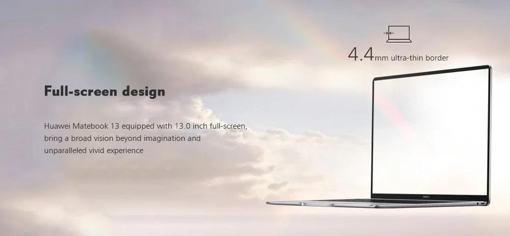 Huawei Matebook 13 Pantalla