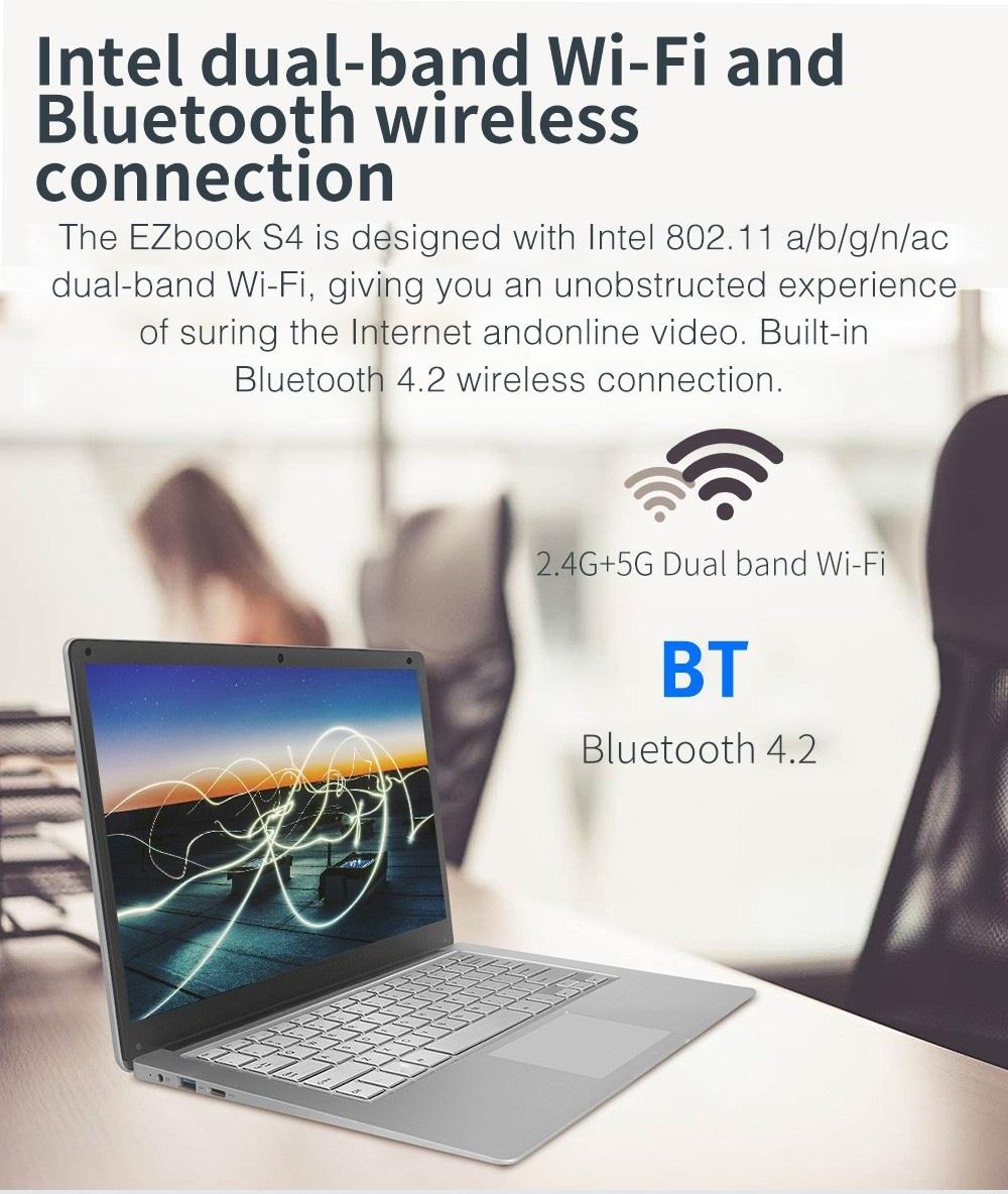 umper EZbook S4 conexiones