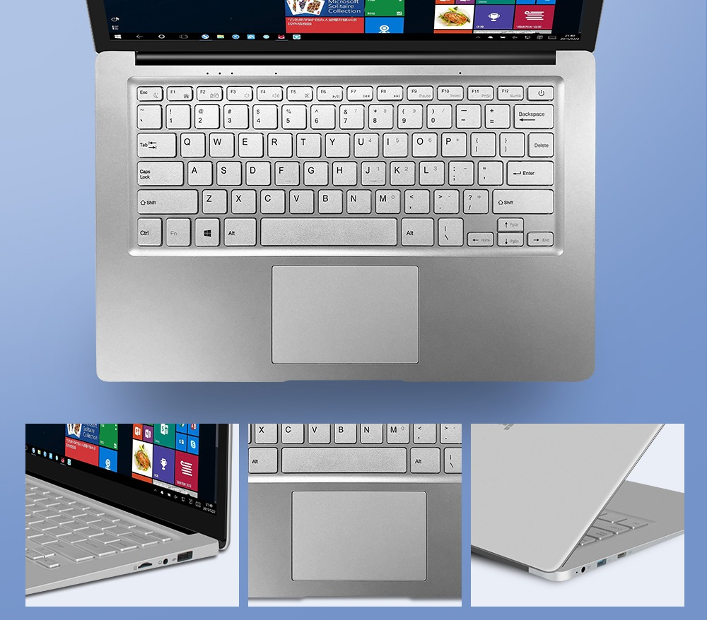 Jumper EZbook S4 teclado