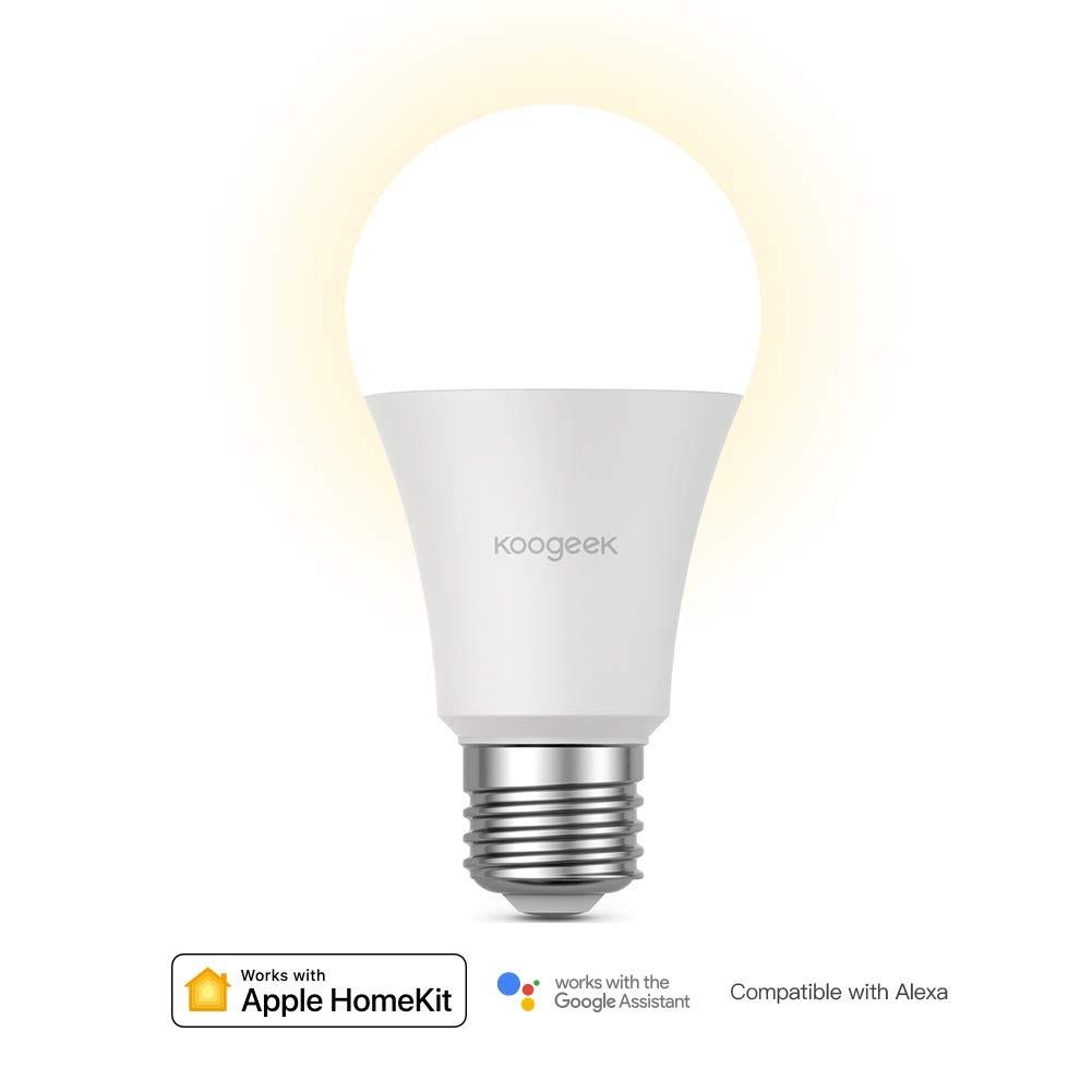 Koogeek Bombilla LED E27 introducción