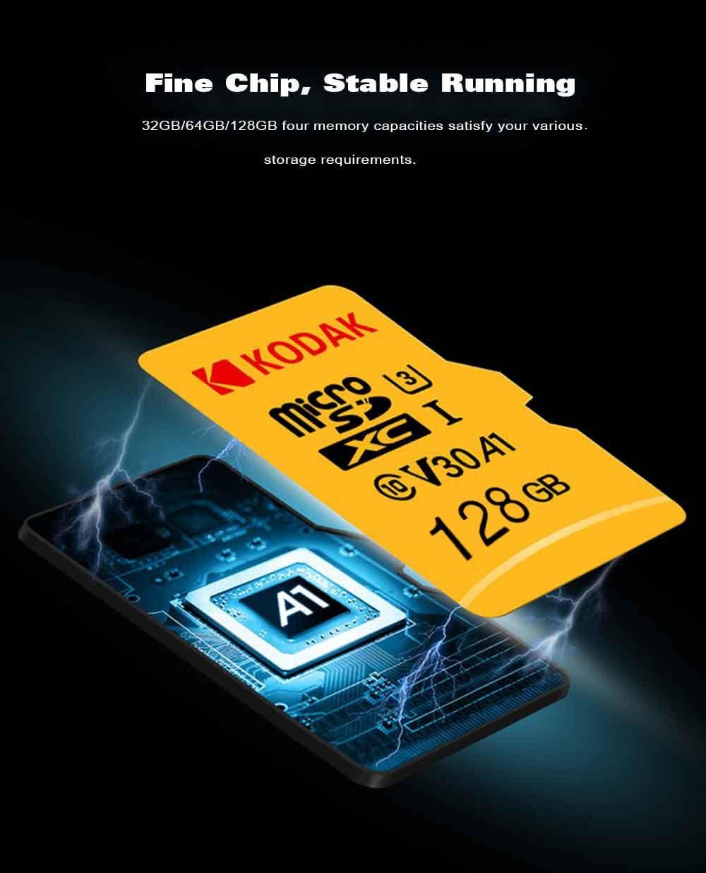 Memoria Micro SD Kodak buen chip