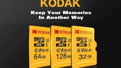 Memoria Micro SD Kodak destacada