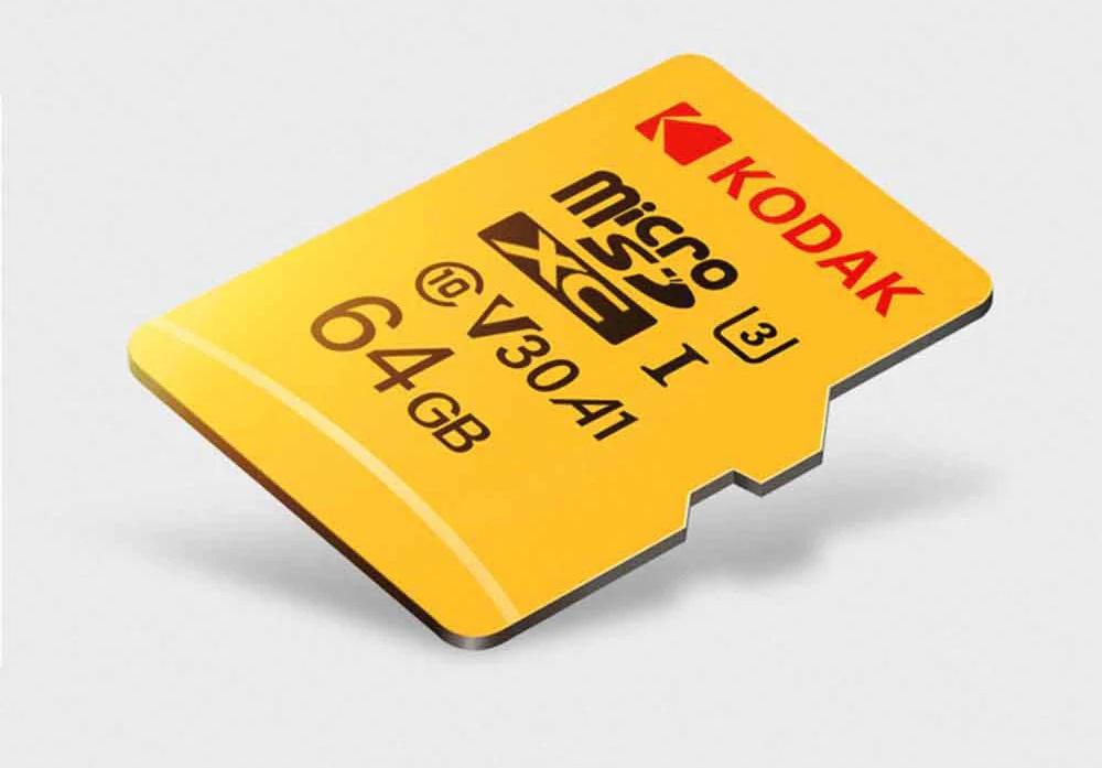 Memoria Micro SD Kodak diseño