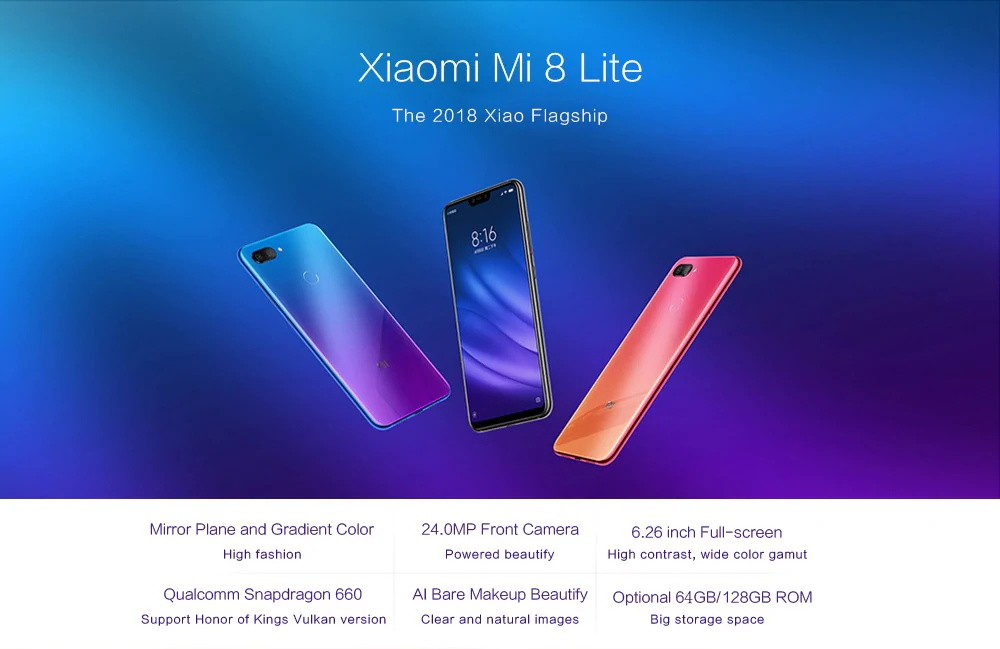 Promoción Christmas is coming Xiaomi Mi 8 Lite 4G