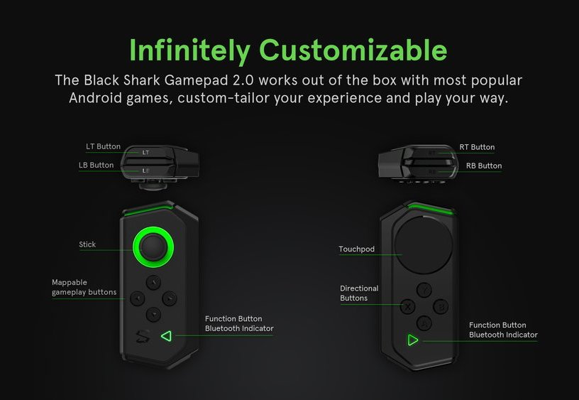 Xiaomi Black Shark Gamepad 2.0