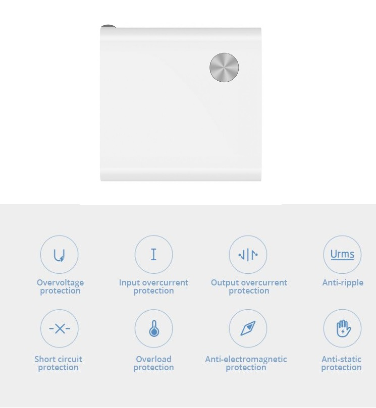 Xiaomi 2 in 1 Power Bank seguridad