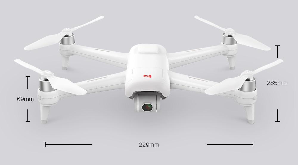Xiaomi Fimi A3 Drone dimensiones