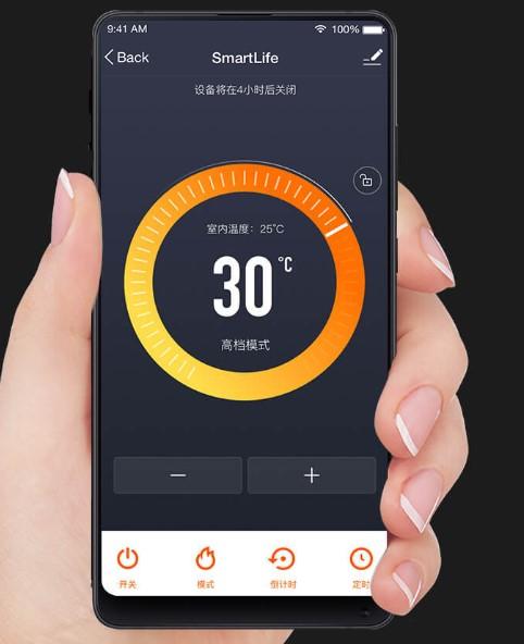Xiaomi LTK Electric Heating Radiator App