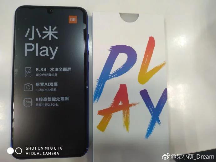 Xiaomi Mi Play presentación