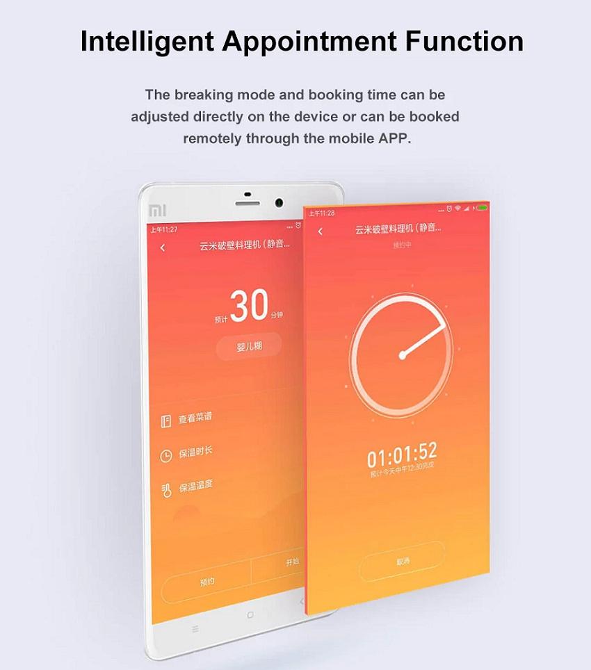 Xiaomi Viomi VBH122 Aplicación
