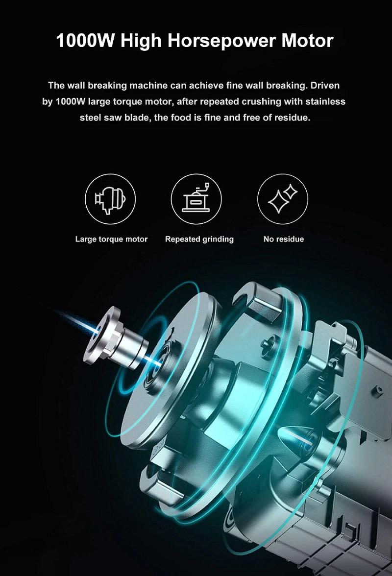 Xiaomi Viomi VBH122 Motor Y Potencia