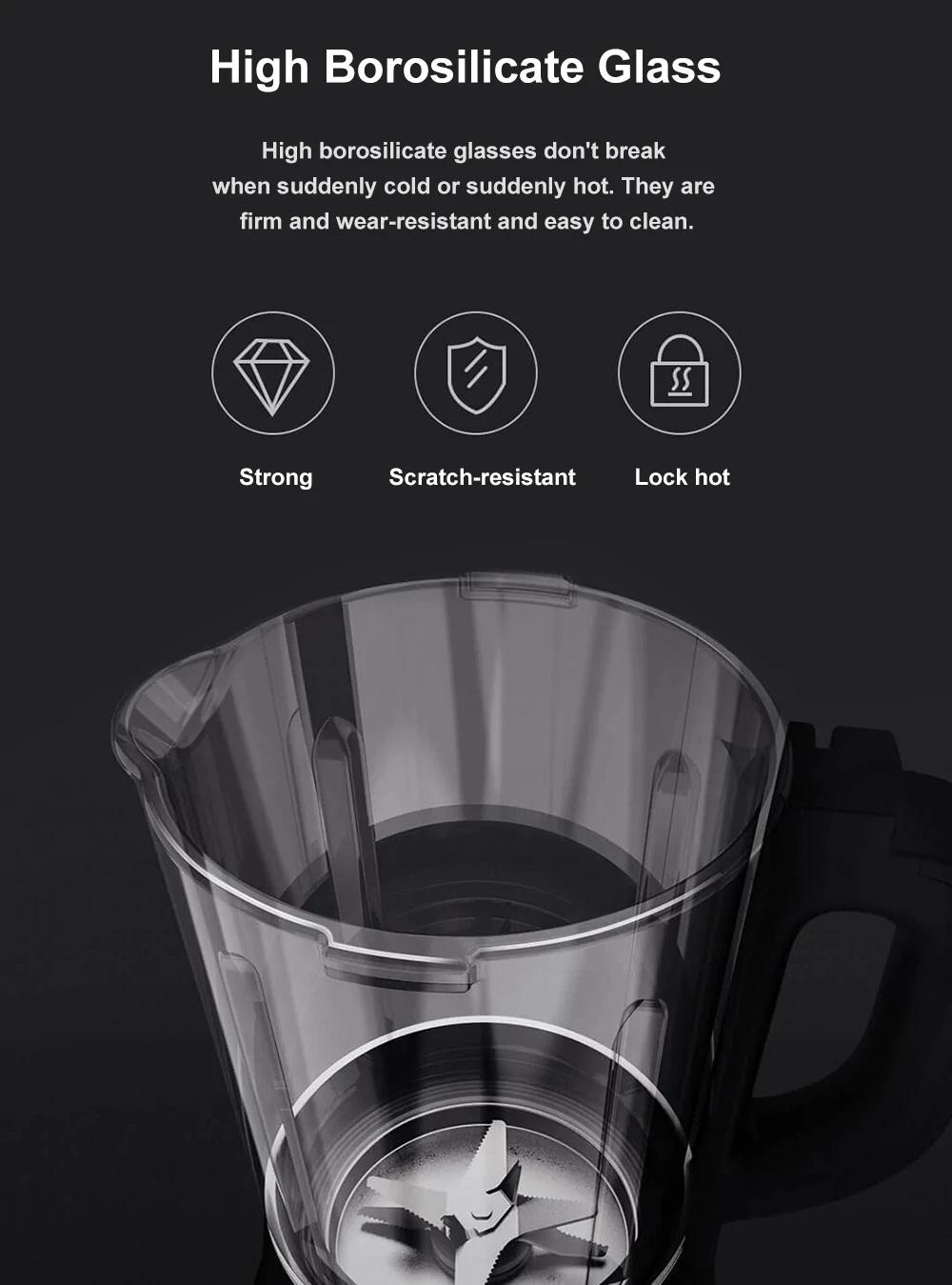 Xiaomi Viomi VBH122 diseño vidrio