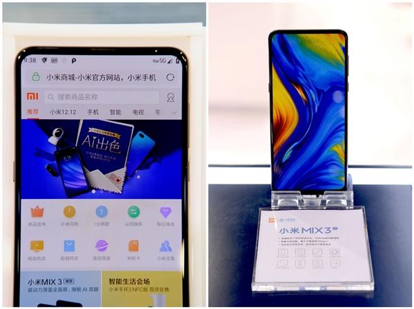 Snapdragon 855 - Xiaomi Mi MIX 3 5G