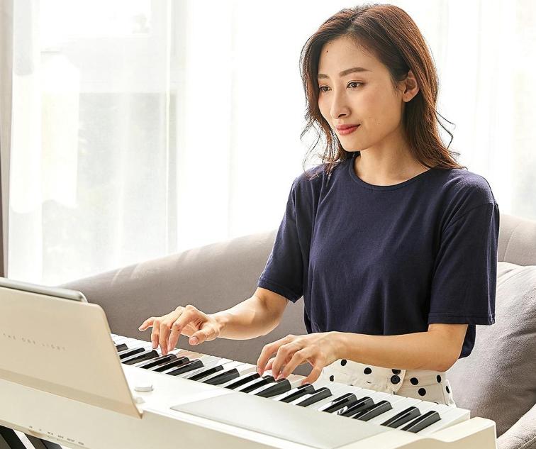 Xiaomi TheOne Smart Keyboard Piano - Un teclado eléctrico económico y de calidad