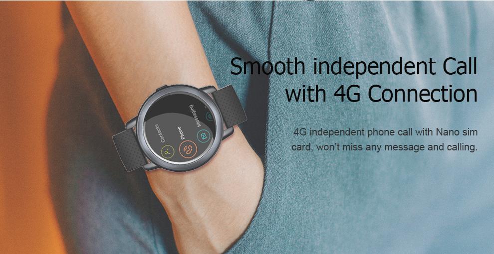 Lemfo Lem8 Smartwatch: Llamadas 4G