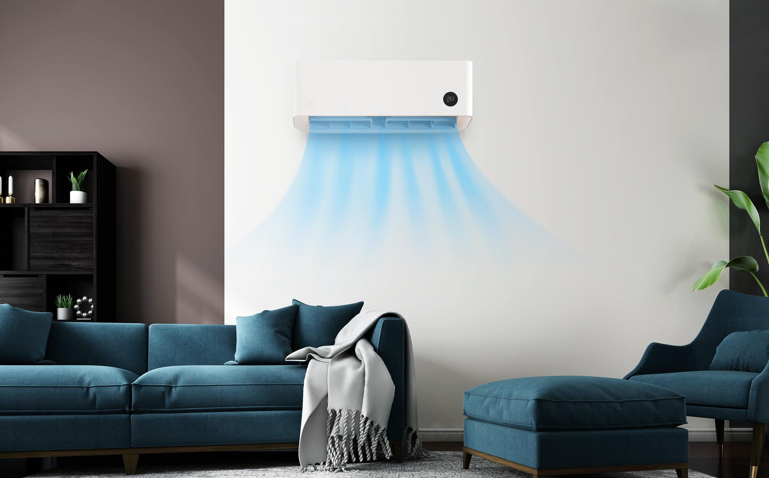Diseño con el que cuenta el Mijia Smart Air Conditioner