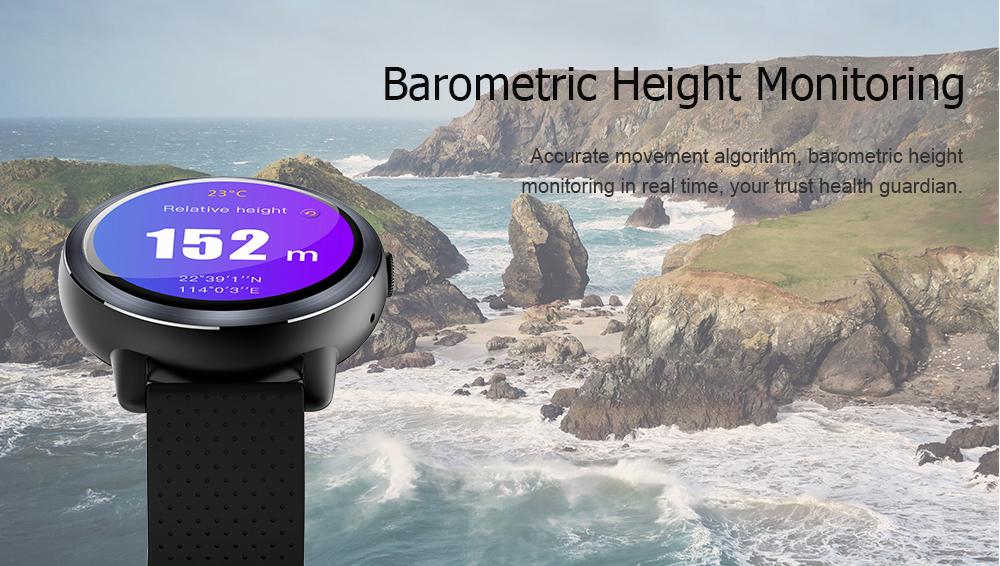 Lemfo Lem8 Smartwatch: Sensores