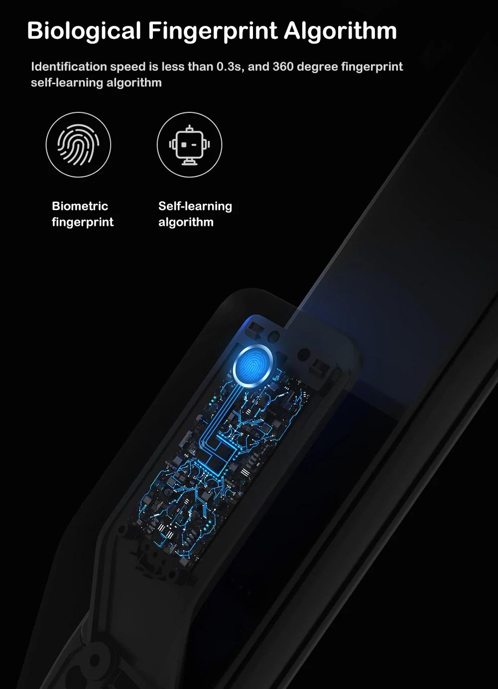 Cerradura Xiaomi M2Características