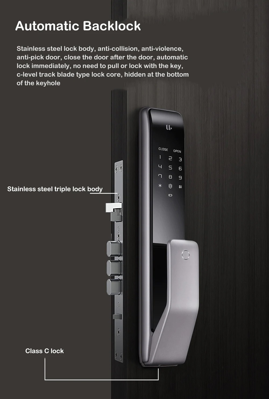 Cerradura Xiaomi M2 Diseño pull