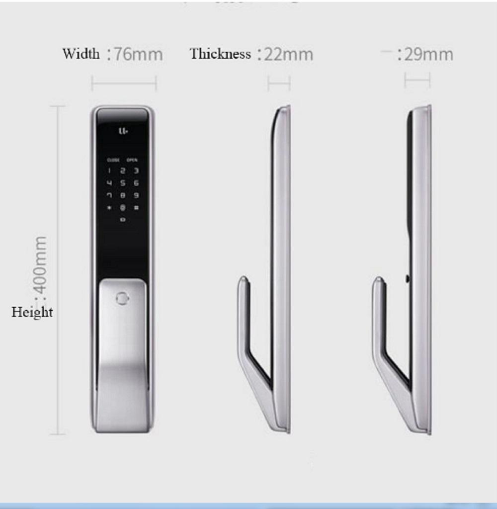 Cerradura Xiaomi M2 Diseño